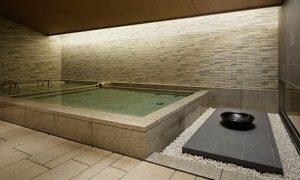ホテルには珍しい大浴場