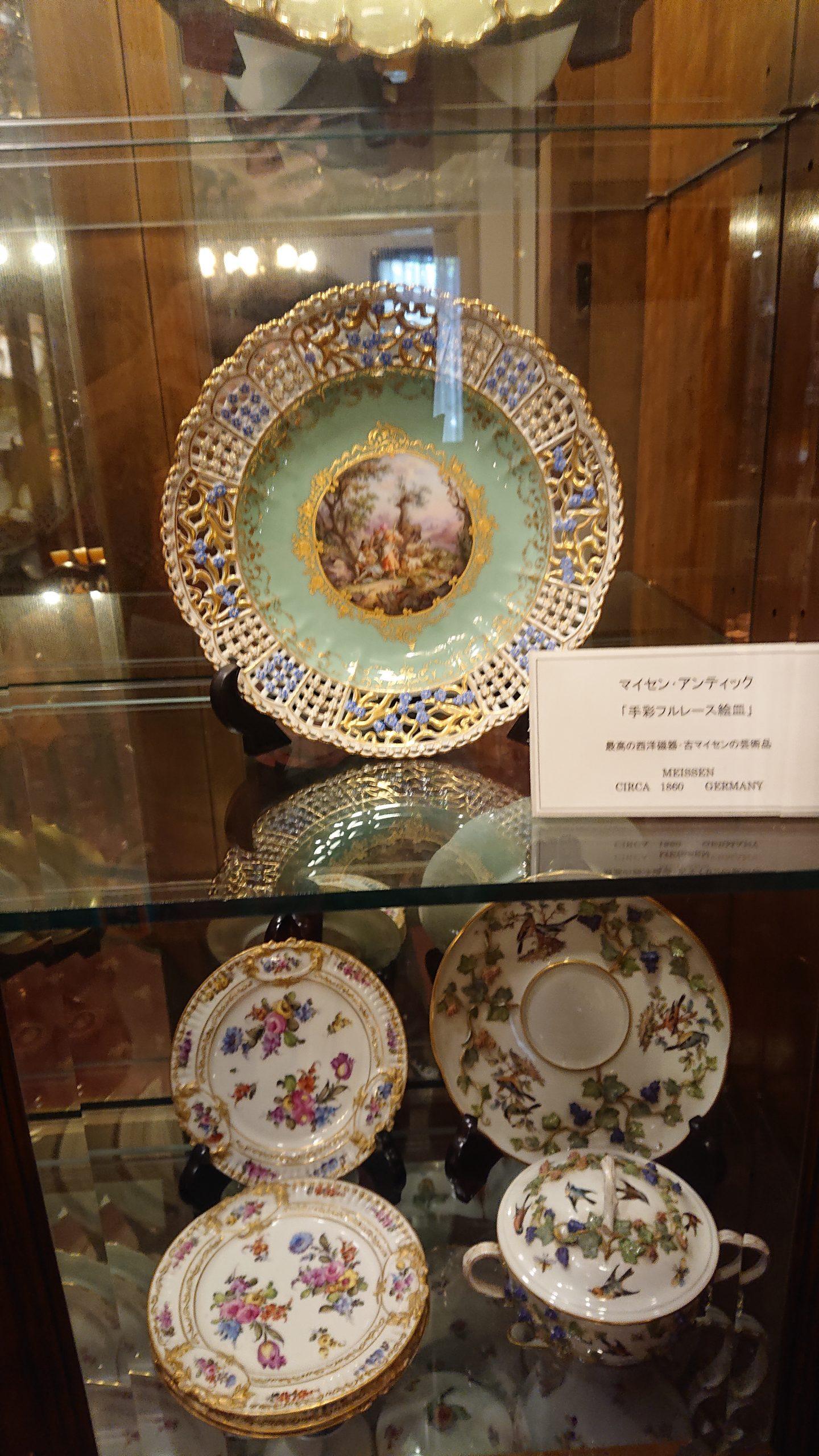 マイセンの絵皿