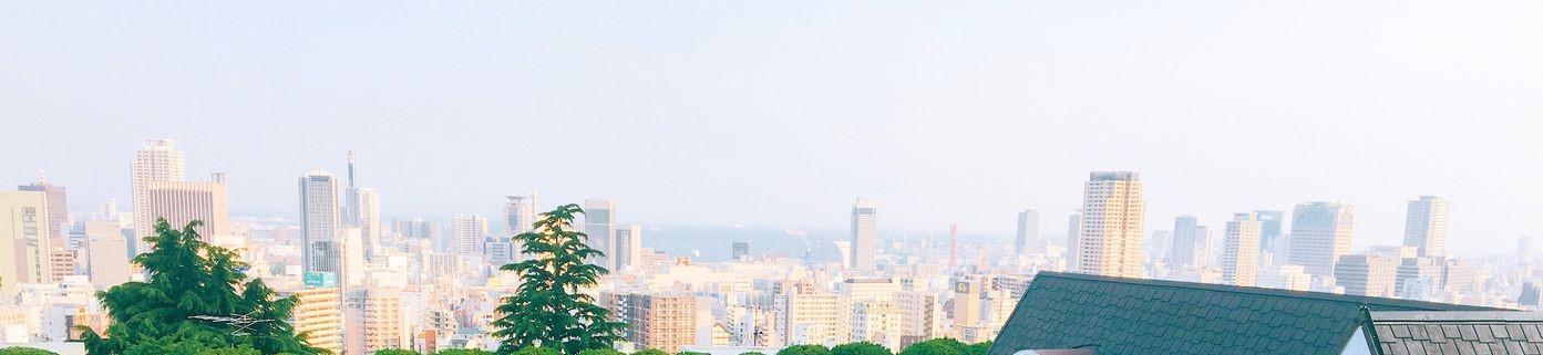 展望台から見た神戸