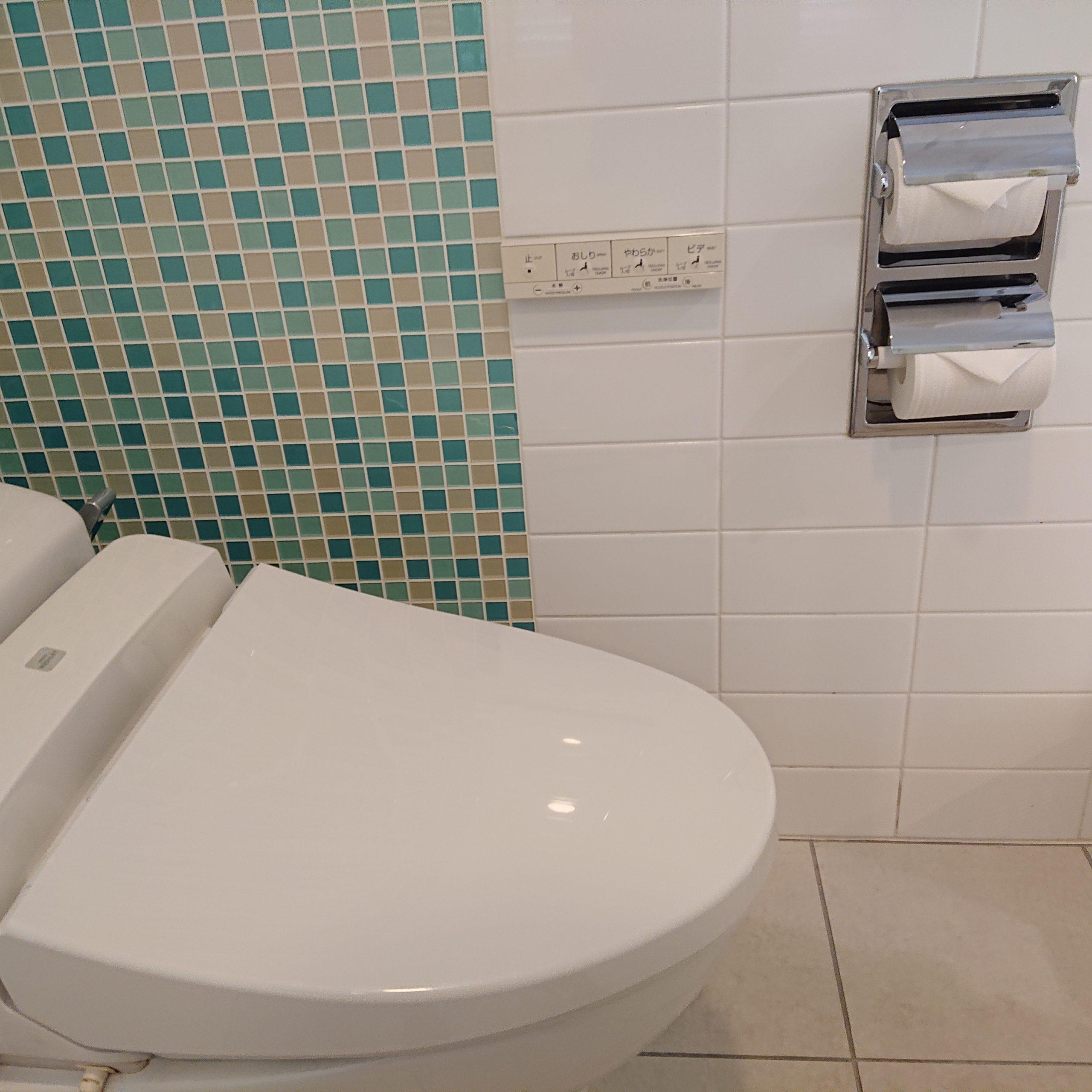こじんまりしたトイレ